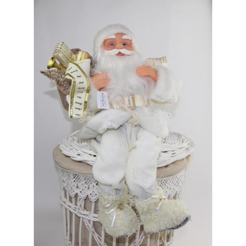 Babbo Natale 40 Cm.Babbo Natale Seduto