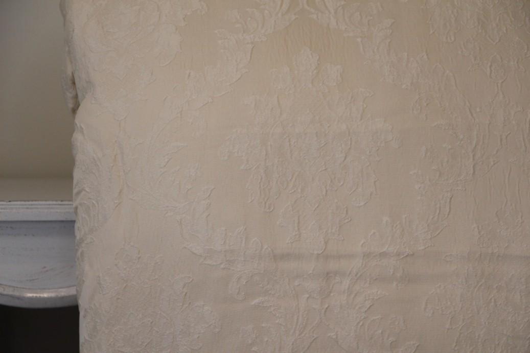 Trapunta blanc maricl con 2 copriguanciale collezione gatsby colore panna biancheria da - Blanc mariclo mobili ...