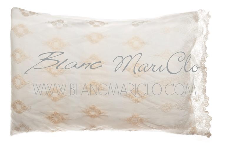 Trapuntino fondo letto blanc maricl 100x200 cm dafne biancheria da letto tessuti - Blanc mariclo mobili ...