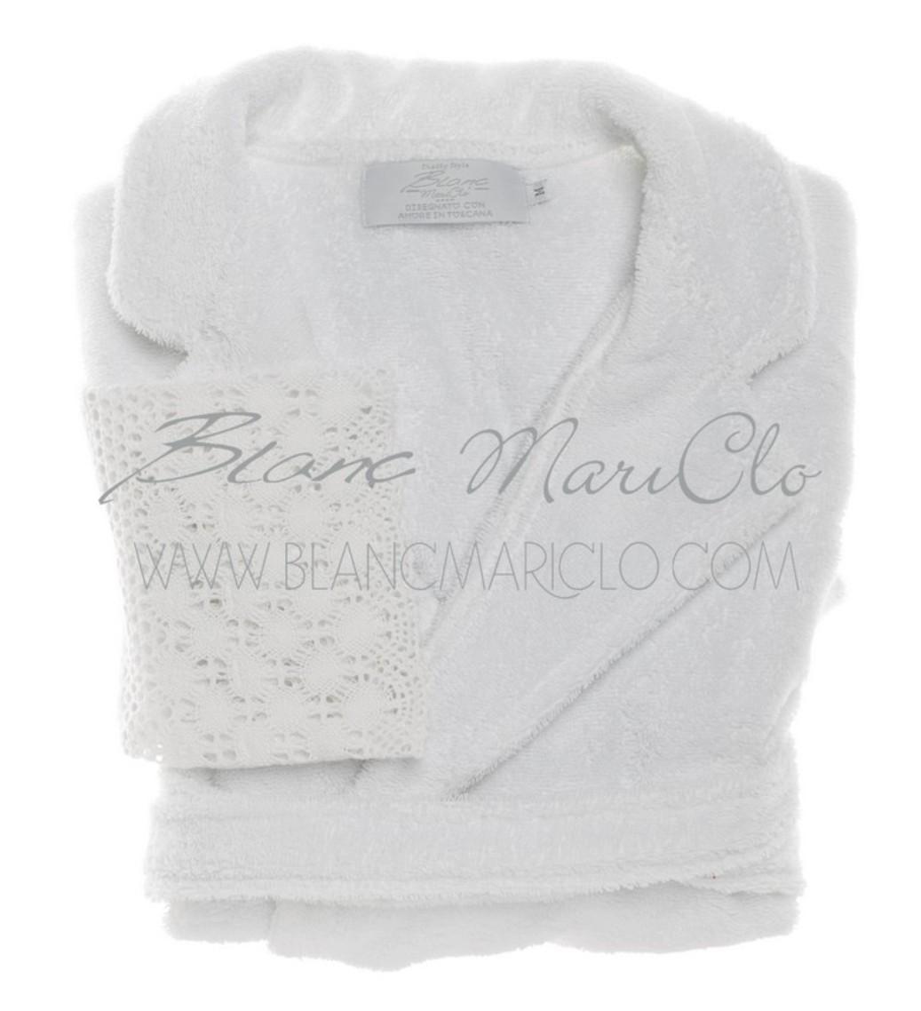 Accappatoio blanc maricl bianco blanc maricl tessuti - Blanc mariclo mobili ...