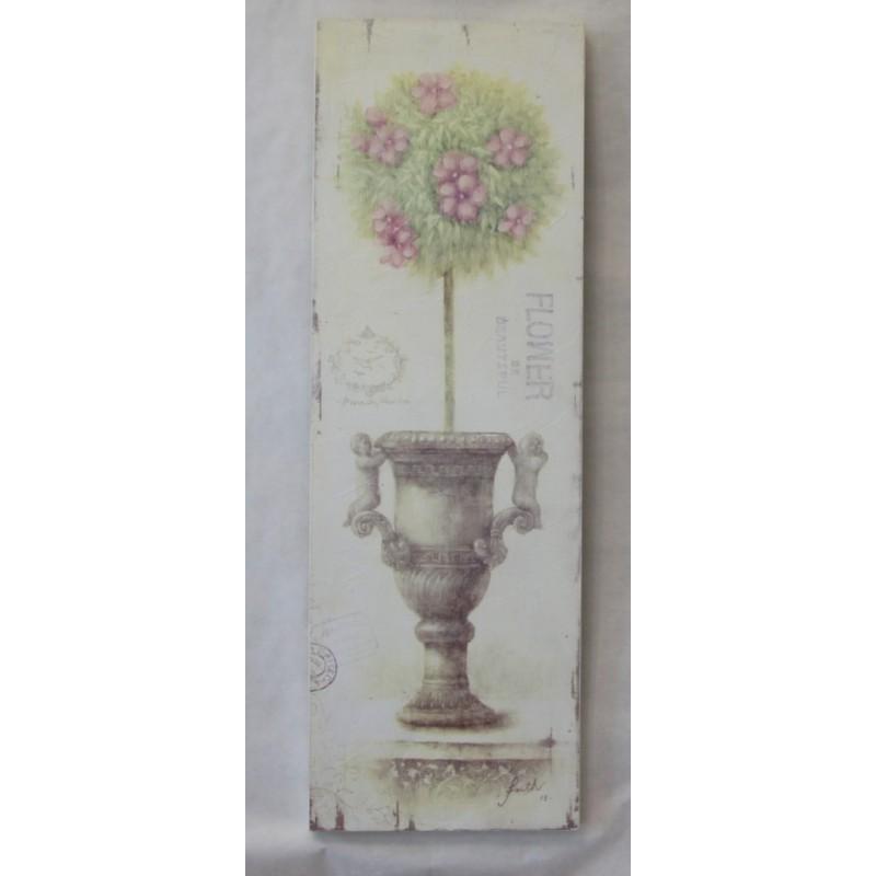 Quadro vaso c bosso 30x90 cm for Bosso vaso