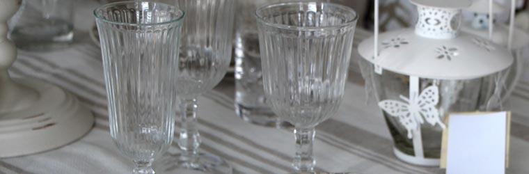 Bicchieri oggetti tavola - Disposizione bicchieri in tavola ...